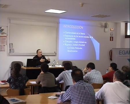 Manuel Botana Agra, catedrático emérito de Dereito Mercantil na Universidade de Santiago de Compostela - Curso de Marcas